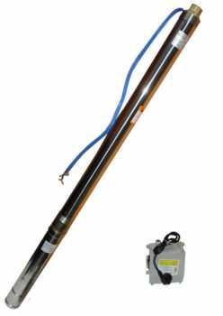 Насос для скважины Omnigena 3t23 (кабель 1м)