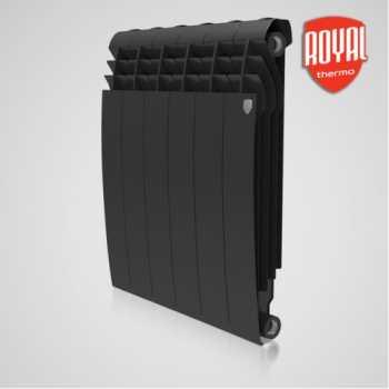 Радиатор алюминиевый Royal Thermo BiLiner 500 Noir Sable