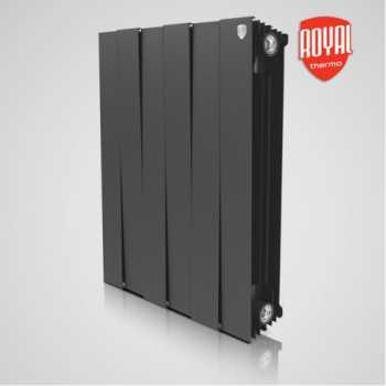 Радиатор алюминиевый Royal Thermo PianoForte 500 Noir Sable