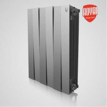 Радиатор алюминиевый Royal Thermo PianoForte 500 Silver Satin