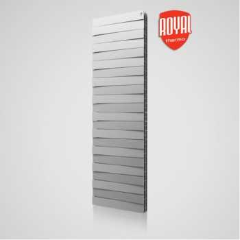 Радиатор Royal Thermo PianoForte Tower Silver Satin 22-секции
