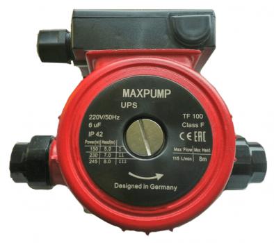 Циркуляционный насос MAXPUMP UPS 25/6-130
