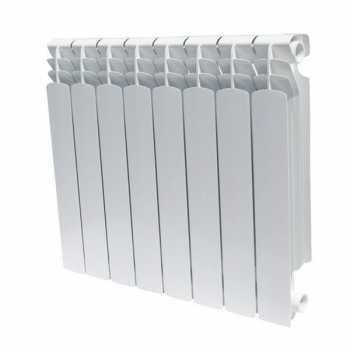 Радиатор алюминиевый BIG B4 350/100  8 секц.