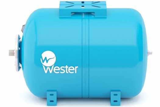 Мембранный бак для хол.воды Wester WAO150