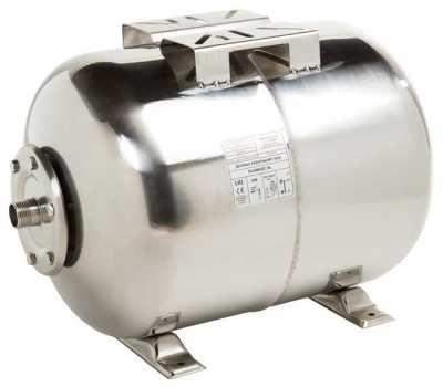 Мембранный бак для хол.воды IBO 80 л нерж. сталь, мембрана EPDM