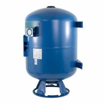 Мембранный бак для хол.воды IBO 100 л. верт/гор с манометром