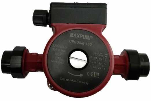 Циркуляционный насос MAXPUMP UPS 25/6-180