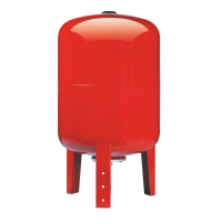 Расширительный бак для отопления IBO 100 л