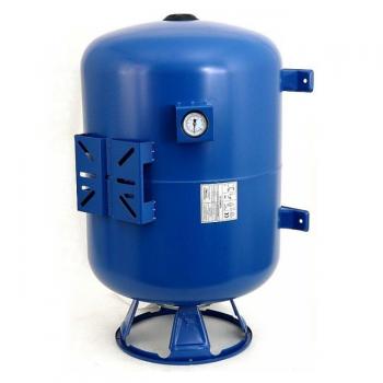 Мембранный бак для хол.воды IBO 50 л. верт/гор с манометром