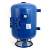 Мембранный бак для хол.воды IBO 80 л. верт/гор с манометром