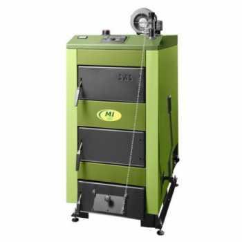Котел стальной твердотопливный SAS NWG 78 кВт без автоматики