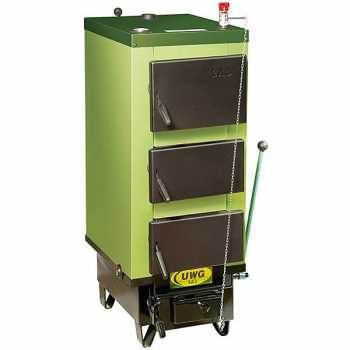 Котел твердотопливный длительного горения SAS UWG 12 кВт без автоматики
